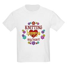 Knitting Happy T-Shirt