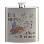 If It Snows Flask