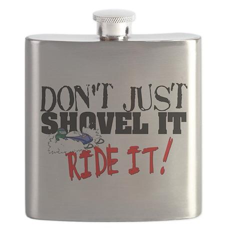 Don't Shovel It, Snowmobile Flask