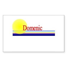 Domenic Rectangle Decal