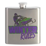 Winter Rules Flask