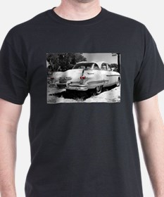Vintage Car With Red Lights T-Shirt