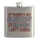Sleddin' in Heaven Flask