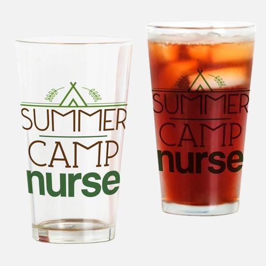 Camp Nurse Gift Idea Drinking Glass