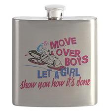 Move Over Boys Flask