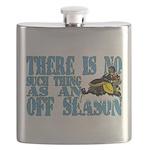 No Off Season Snowmobiling Flask