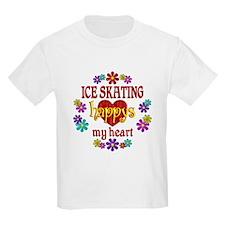 Ice Skating Happy T-Shirt