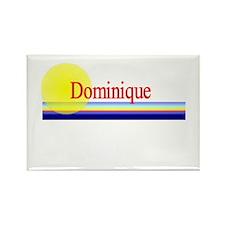 Dominique Rectangle Magnet (10 pack)