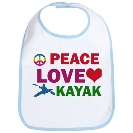 Peace Love Kayak Designs Bib