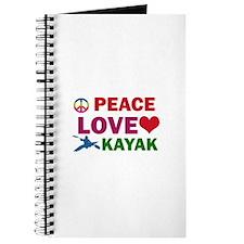 Peace Love Kayak Designs Journal