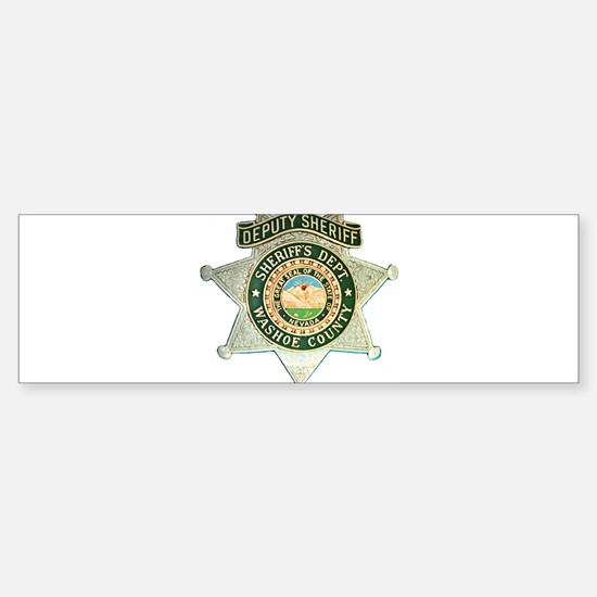 Washoe County Sheriff Bumper Bumper Bumper Sticker