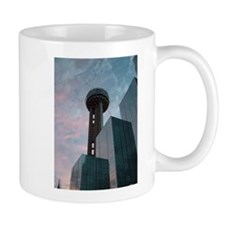 Unique Dallas skyline Mug