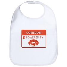 Comedian Powered By Doughnuts Bib