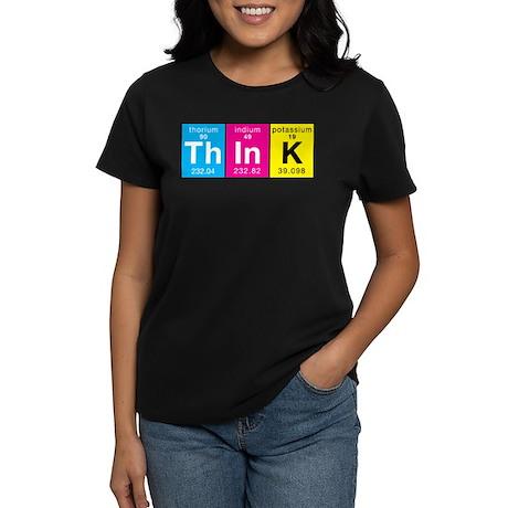 Elements of Think Women's Dark T-Shirt