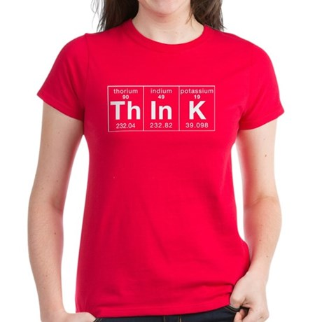 Think Periodically Women's Dark T-Shirt