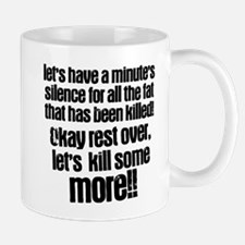 Minute silence Small Small Mug