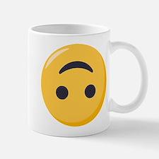 Emoji Upside Down Smiling Face Mug