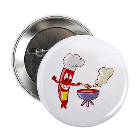 """Hotdog 2.25"""" Button"""