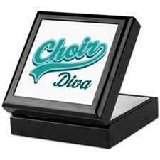 Choir Diva Keepsake Box