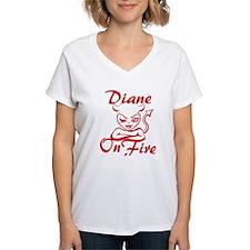 Diane On Fire Shirt