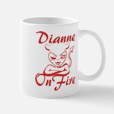 Dianne On Fire Mug