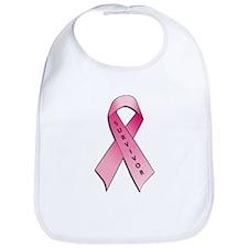 Survivor Pink Ribbon Bib