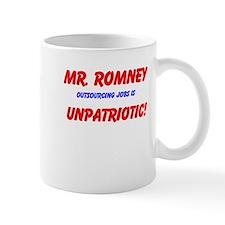 Outsourcing Jobs Is Unpatriotic - Mug