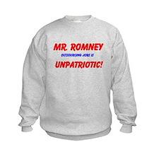 Sweatshirt Outsourcing Jobs Is Unpatriotic