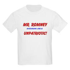 T-Shirt Outsourcing Jobs Is Unpatriotic