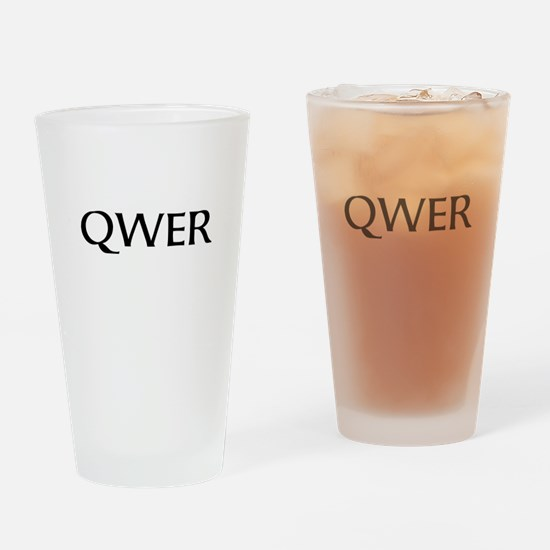 QWER Drinking Glass