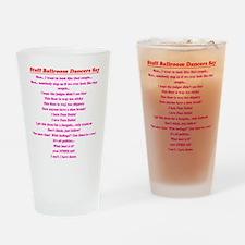 Stuff Ballroom Dancers Say Drinking Glass
