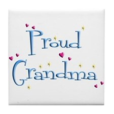 Proud Grandma Tile Coaster