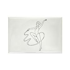 Dancing Rectangle Magnet