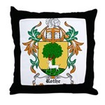 Rothe Coat of Arms Throw Pillow