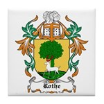 Rothe Coat of Arms Tile Coaster