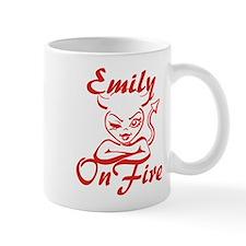 Emily On Fire Mug