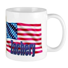 Zachery Personalized USA Flag Mug