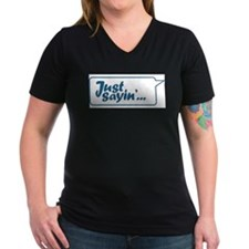Just Sayin' Texty Bubble Shirt