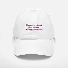 Biological clocks don't have Baseball Baseball Cap
