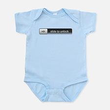 Slide To Unlock Infant Bodysuit