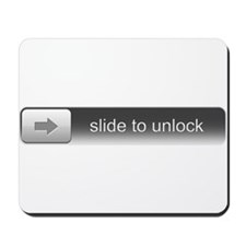 Slide To Unlock Mousepad