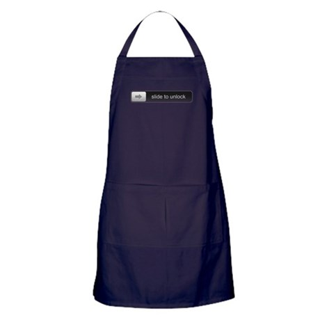 Slide To Unlock Apron (dark)