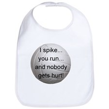 I Spike you Run Bib