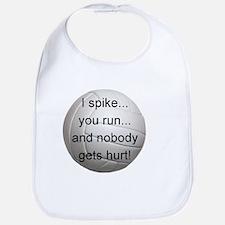 I Spike you Run Bib