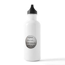 I Spike you Run Sports Water Bottle