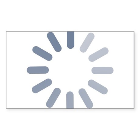 Wait Sticker (Rectangle)