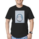 Feb06DarwinMug.png Men's Fitted T-Shirt (dark)