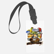 Pirate Parrots Luggage Tag