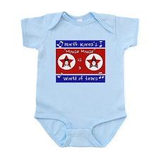 North Korea's Mouse House Infant Bodysuit