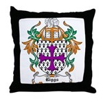 Riggs Coat of Arms Throw Pillow